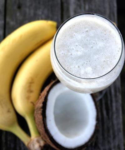 Coconut Milk Smoothie Recipe. Womensforum.com #Recipes