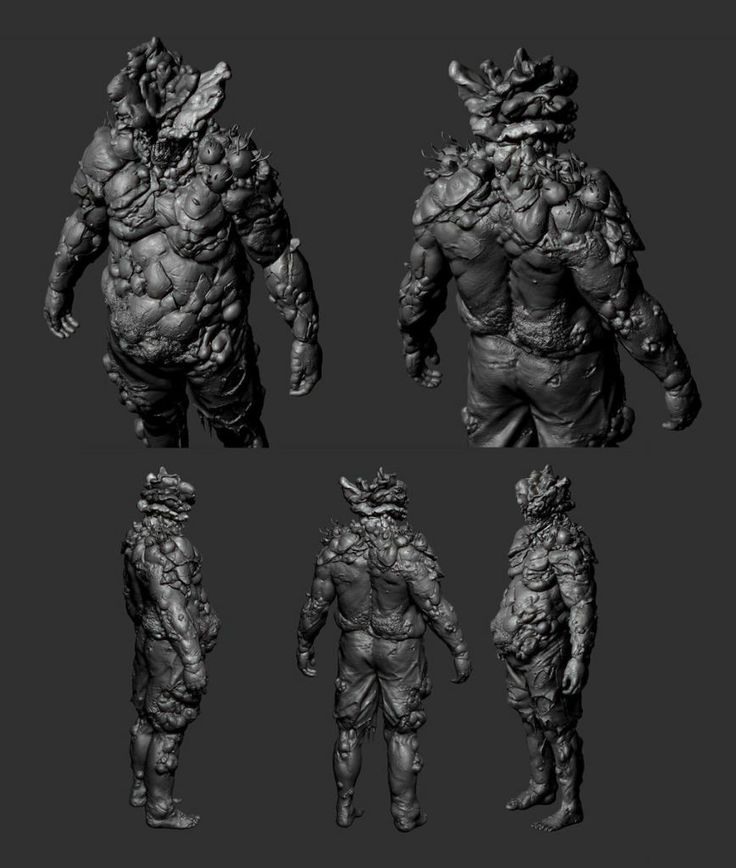 The Last of Us Characters Sculpt bloater