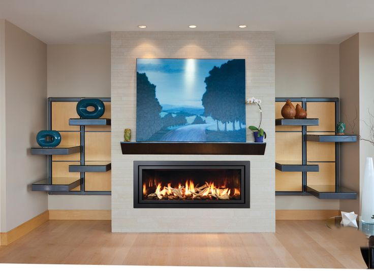 Our Modern Marvel, The FullView Modern Linear Gas Fireplace Can Be As  Subtle Or Forward