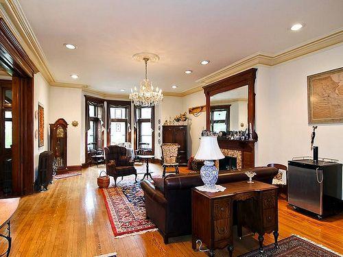 Vermont avenue washington dc row house victorian interior for Interior home designers and washington dc