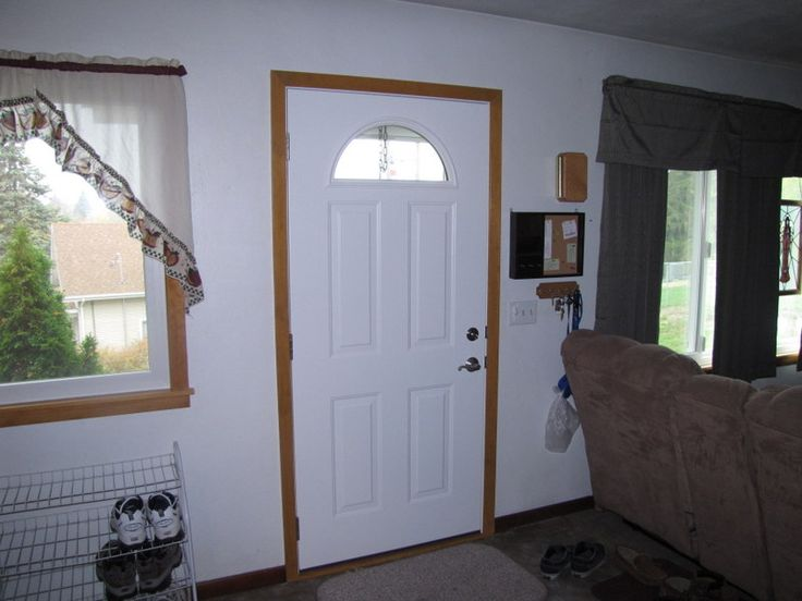 This new Provia door still lets in light but has more privacy than the previous & 102 best Provia Entry u0026 Storm Doors images on Pinterest   Storm ... pezcame.com