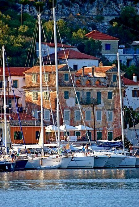 like a painting.. Paxos Island, Greece