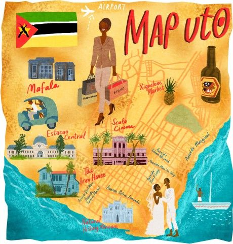 Maputo, Mozambique - Dermot Flynn #map #maputo #mozambique