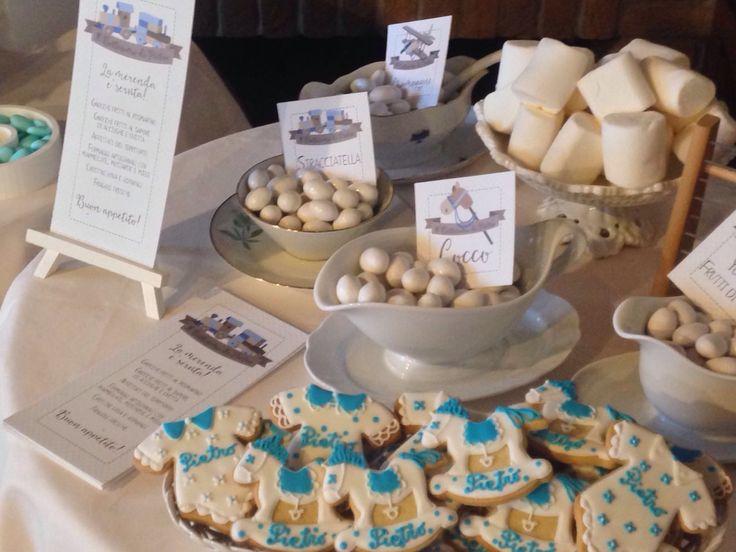 Il Battesimo di Pietro - Tema dell'evento: La dolcezza dei vecchi Giochi // Designer & Event Planner: Un Giorno su Misura