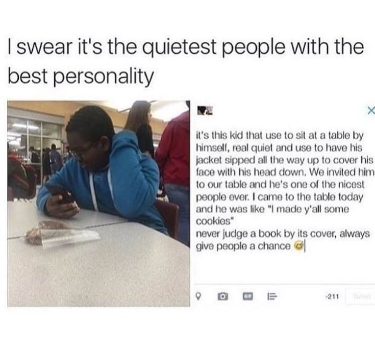 This quiet kid who knows that the quickest way to his new friends' hearts is through their stomachs: #AwesomePeople