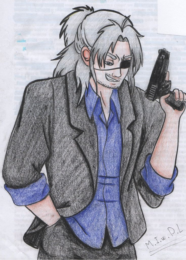 Worick Arcangelo from gangsta!  worick arcangelo manga anime man benriya gun