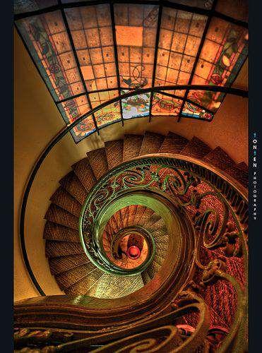 Escadas espetaculares | Mundo Gump