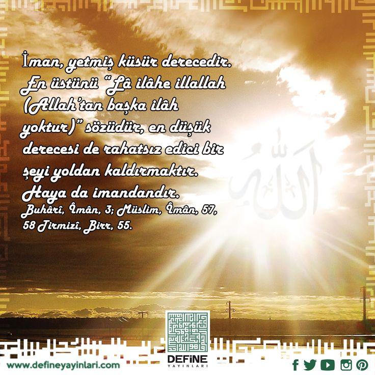 Haftanın hadisi… #hadis #defineyayinlari #book #yayin #kitap #islam #ayet #Kuran