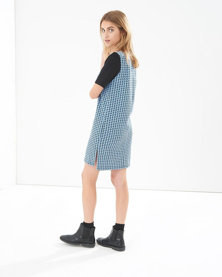 Ingar Houndtooth Dress