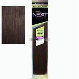 "Premium Next Natural Perm Yaki 10"" - Color 2 - Human Weaving"