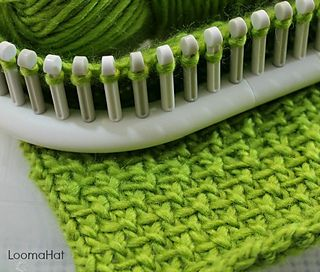 The Linen Stitch has a very upscale and classy look. To top things off it is VERY easy to do. Below is a link to a picture, text and video tutorial to help you with a pattern that only requires two steps.