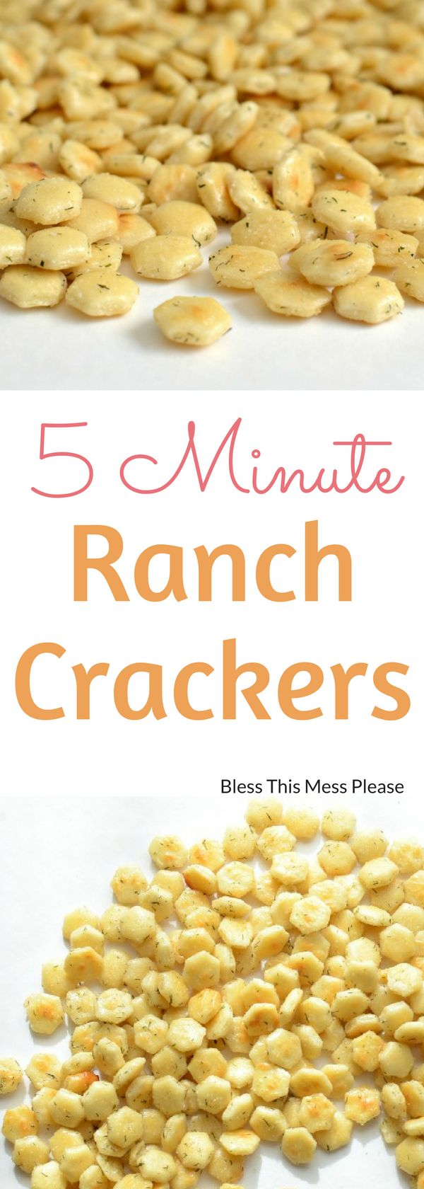5 Minute Ranch Crackers - These Five Minute Ranch Crackers are so very easy and so very addicting. I promise you won't be able to stop at just one handful.