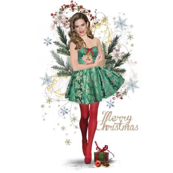 Selection pinterest merry christmas polyvore and christmas
