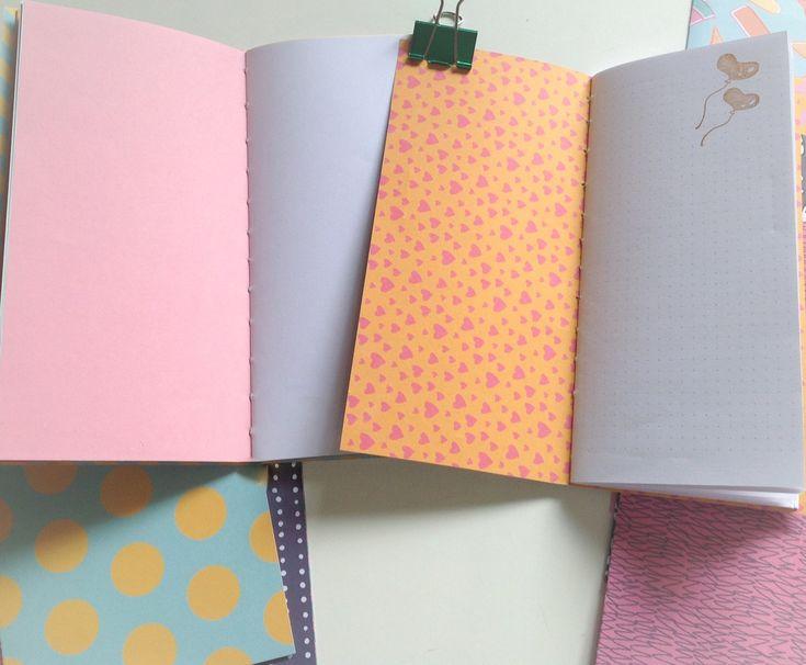 Anteckningsböcker (inserts) för din travelers notebook.