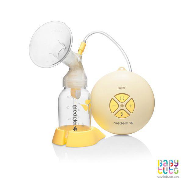 Extractor de leche eléctrico Swing, $169.000 (precio referencial). Marca Medela: http://bbt.to/1SHadwA