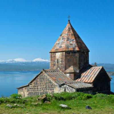 Kloster Sewanavank am Sevansee (Armenien)