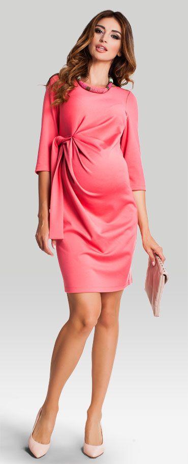 Fantasia coral платье из плотного трикотажа для беременных
