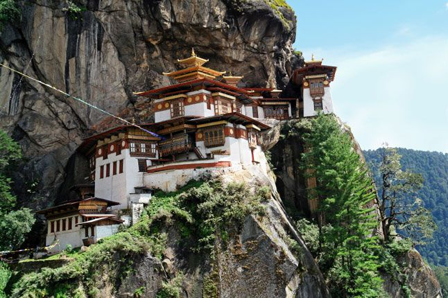 The Kingdom of #Bhutan- where the GNH (Gross National Happiness) is more important than the GNP (Gross National Product)!