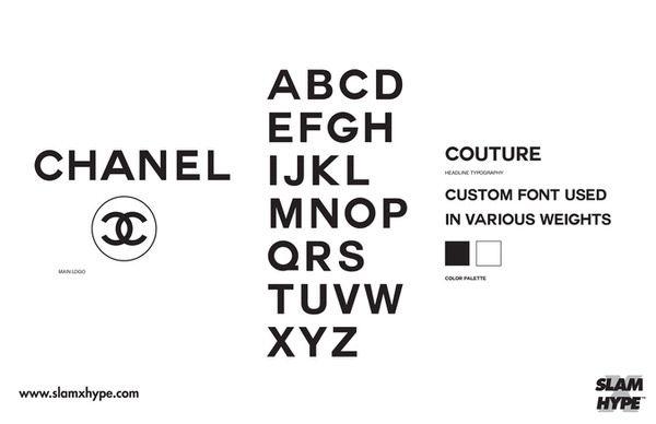 Chanel SIZED 【フォント】ストリートウェアブランドなら「Futura」を高級ブランドなら「Helvetica」を使うべきという考察