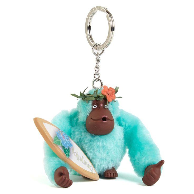Surfer Monkey Keychain - Multi | Kipling
