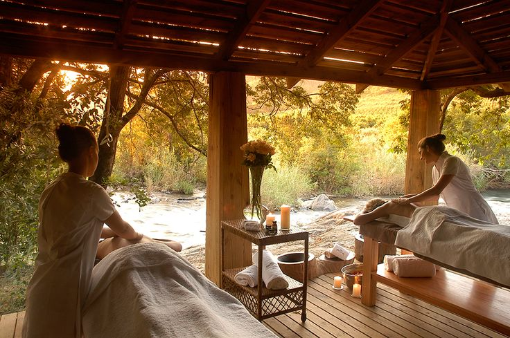 Summerfields Rose Retreat & Spa is a family-owned, roots organisation offering a place of tranquillity, a place to relax and shake off the city blues; the ideal destination for a romantic getaway. Accommodation is in 5-star luxury tented suites on the Sabie River under a canopy of jackalberry and tambotie trees. #Affluencemag #relax #luxury #spa