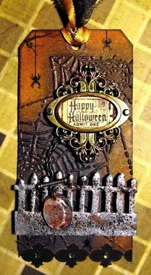 FRIENDS in ART: Halloween Tag from Tim Design Team