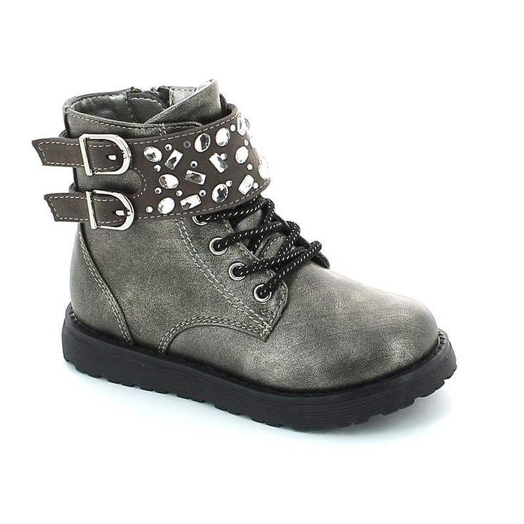 IQkids BOOM-90 Γκρι - shoes4me