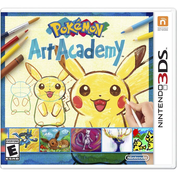 Pokemon Art Academy (Nintendo 3DS) I neeeeeed dis game...