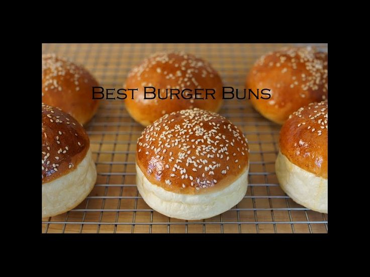 How to make hamburger buns - Bruno Albouze - *says a bad word now and again, but this guy is an awesome chef!