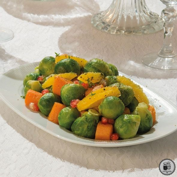 Λαχανάκια Βρυξελλών & καρότα σοτέ
