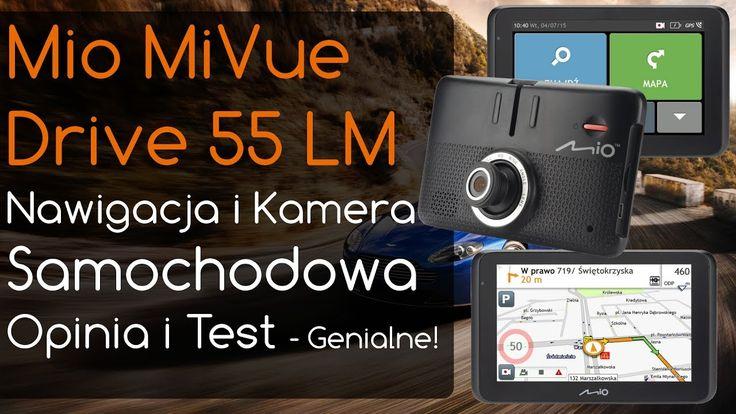 Mio MiVue Drive 55 LM Nawigacja i Kamera Samochodowa - Opinia i Test
