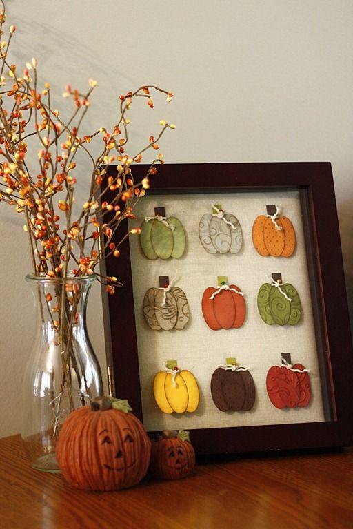 Cute Pumpkin Punch Art for Fall