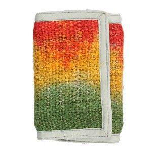 Hemp tie dye Tri-colour Wallet