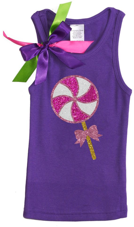 Girls Birthday Outfit Candy  Birthday Party by BubbleGumDivas