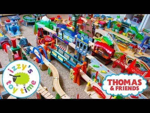 Thomas and Friends | Thomas Train HUGE INVENTORY with KidKraft Brio Imaginarium | Toy Trains 4 Kids - YouTube