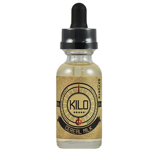Kilo eLiquids Cereal Milk - The perfect blend of fruity cereal and milky cream. This nostalgic flavor is reminiscent of the milk after you've finished a bowl of your favorite cereal.70% VG