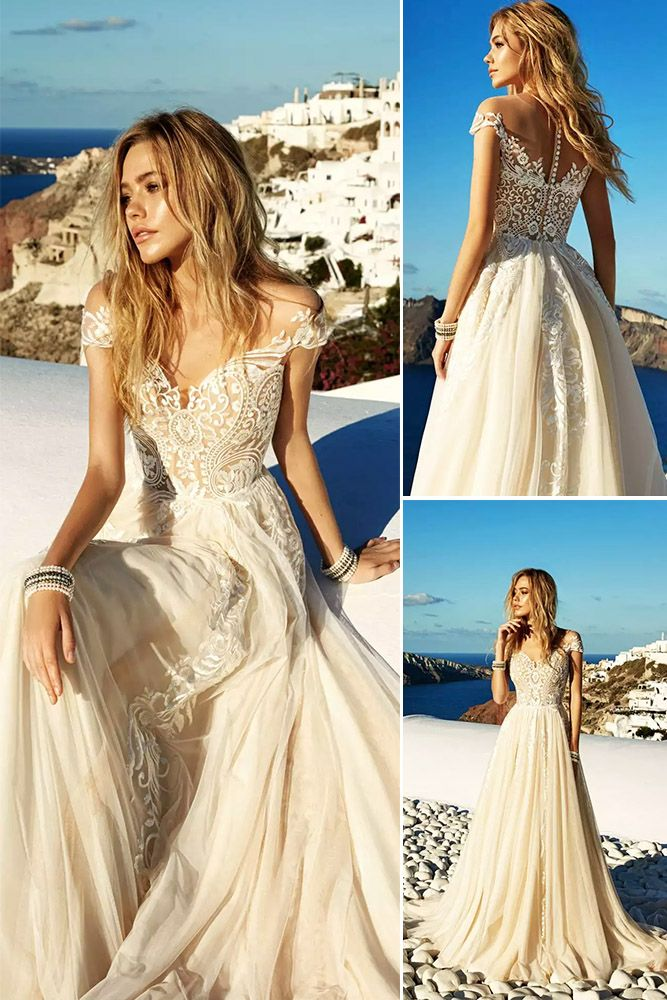 18 Trendy Eva Lendel Wedding Dresses For 2017 ❤ Eva Lendel wedding dresses have contemporary and feminine styles. The Santorini 2017 bridal collection contains various silhouettes combination with interesting and magnificent details. See more: http://www.weddingforward.com/eva-lendel-wedding-dresses/ #wedding #dresses #2017
