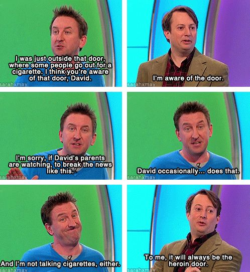 Lee Mack & David Mitchell // Would I Lie To You?