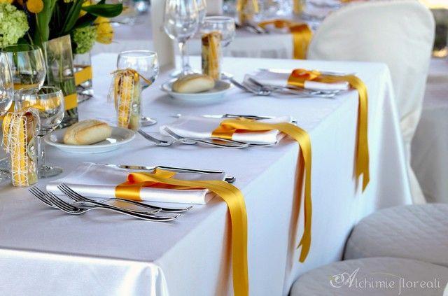 tulle e confetti - #matrimonio in giallo - legatovagliolo - #alchimiefloreali #yellowwedding