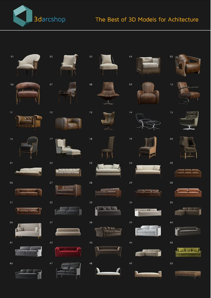 3DARCMODELS FREE VOL 01 consists of 50 interior models with various designs and styles.     This collection is designed for architectural visualizations made in 3ds MAX.      Scenes are not lighting and cameras.  Total size : 932 MB in 50 files.