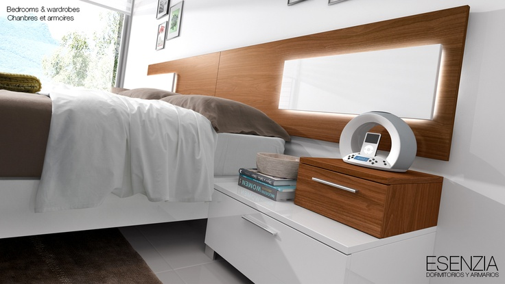 Esenzia dormitorio dormitorios dormitorios modernos - Iluminacion dormitorios modernos ...