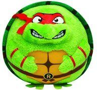 Teenage Mutant Ninja Turtles TY Beanie Ballz Medium 11 inch Plush Toy - Raphael