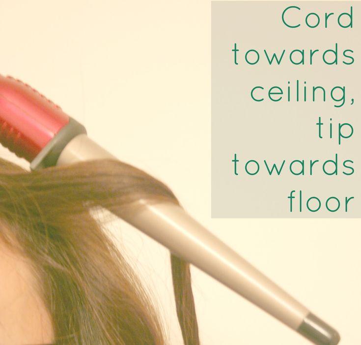 E l l e S e e s: How To: Use a Clipless Curling Wand