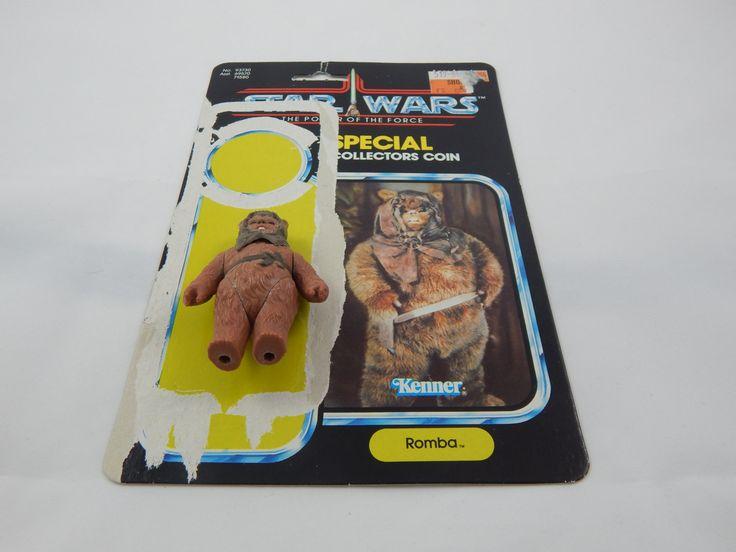 Vintage Star Wars Ewok Romba with original card by AlwaysPlanBVintage on Etsy