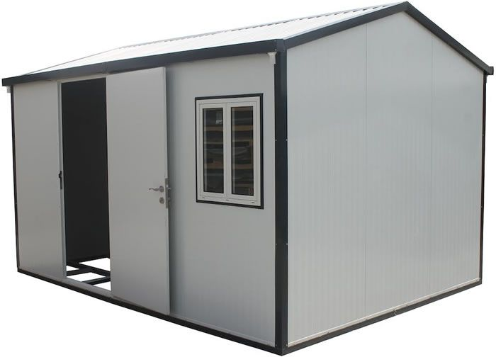 Duramax 13x10 Gable Insulated Building W Foundation Kit 30532 Insulating A Shed Built In Storage Shed Prices
