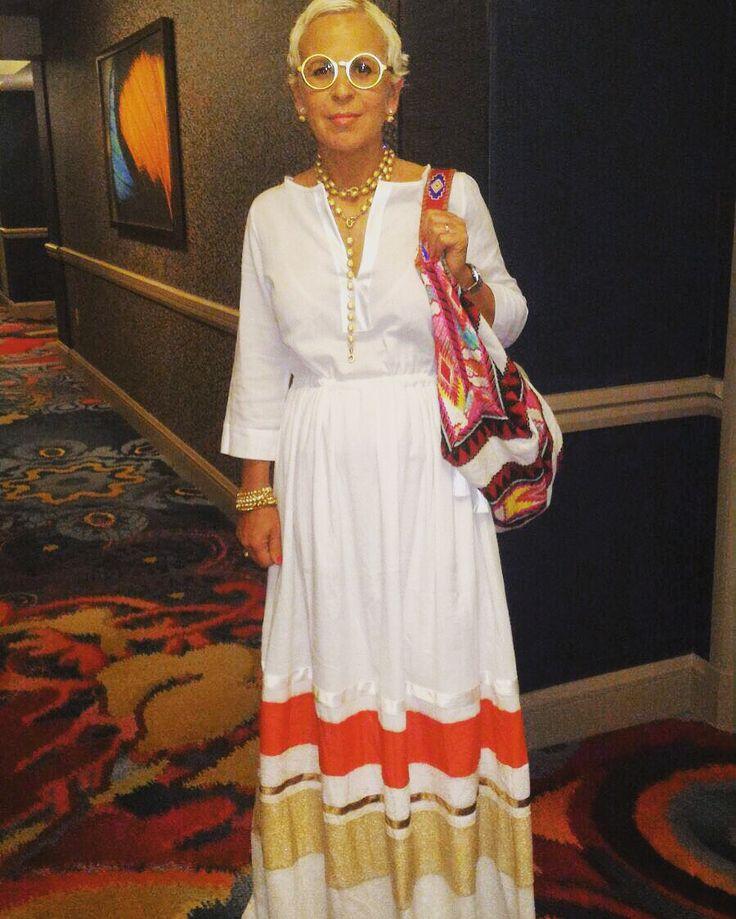Laura a Las Vegas con vestito Ki❤️