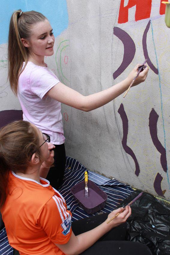 Mural - Cross Community Centre