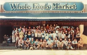 Whole Foods Market was founded in Austin, Texas, when it was determined that the natural foods industry was ready for a supermarket format.  Opening in 1980 it was an immediate success in part because there were less than half a dozen natural food supermarkets nationwide.