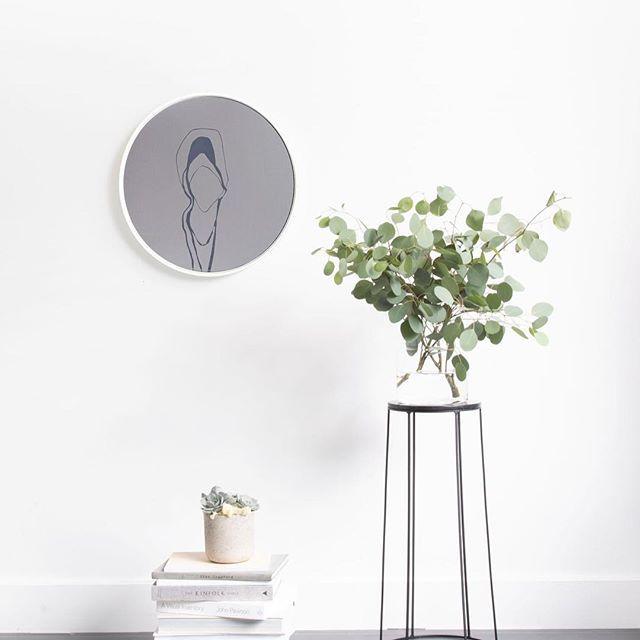"The ""Smoke Grey / White Small Circle Mirror"" *Sold // Styled by @lauramelling Photographed by @jonmcmorran ⠀  -⠀  -⠀  -⠀  -⠀  ⠀  #luxe #mirror #mirrors #modernmirror #contemporarydesign #junglevibes #design #designlovers #interiordesign #interiorobsessed #madeincanada #canadianmade #handmade #handcrafted #modernliving #minimal #instadesign #homedecor #wallart #wallartdecor"
