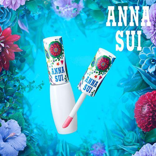 アナ スイの夏コスメ - 自然な血色がつづくリップカラーや限定カラーマスカラ | ニュース - ファッションプレス